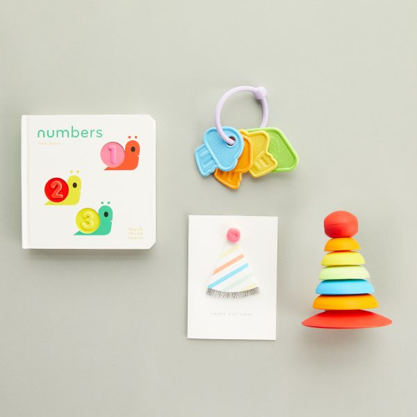 The Tot First Birthday Gift Set- Bright