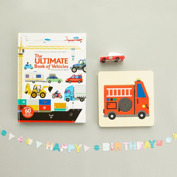 The Tot Birthday Gift Set- Cars