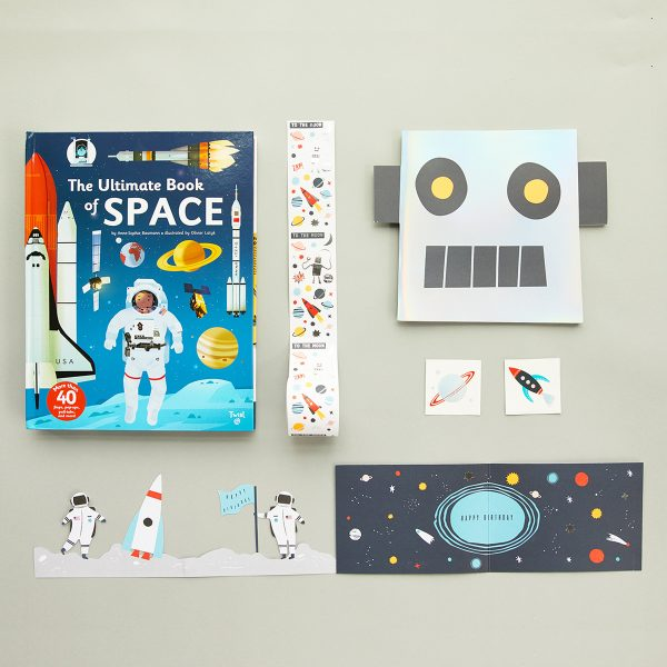 The Tot Birthday Bundle Outer Space Tattoo