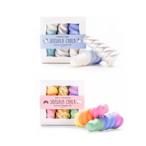 Twee Sidewalk Chalk Horns Set