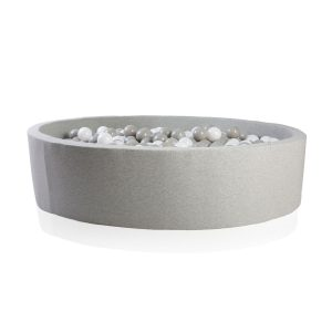Kidkii Light Grey Cotton Ball Pit