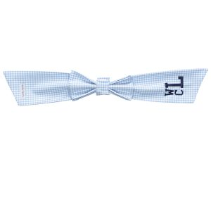 The Bow Next Door Blue Gingham Bow