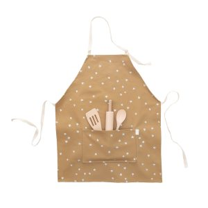 Odette Williams Camel Silver Star Apron