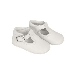 ChildrenChic Baby Leather T-Band Shoes
