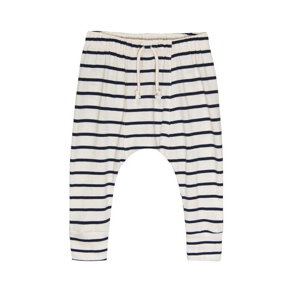 Go Gently Nation Baby/Toddler/Big Kid Jersey Harem Pant Navy Stripe SS20