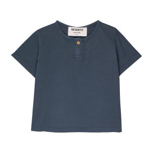 Go Gently Nation Baby/Toddler/Big Kid Jersey Henley Indigo T-Shirt SS20
