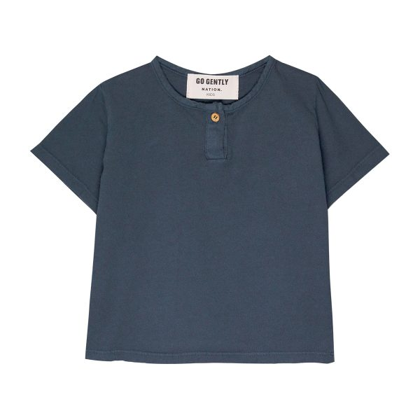 Go Gently Nation Baby/Toddler/Big Kid Jersey Henley Tanin T-Shirt SS20