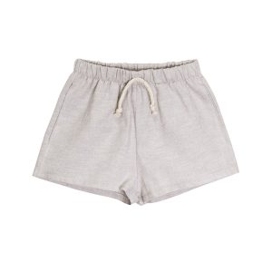 Go Gently Nation Baby/Toddler/Big Kid Lawn Short Dove Grey SS20