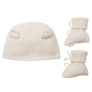 Marie-Chantal Odysseas Hat And Booties Set
