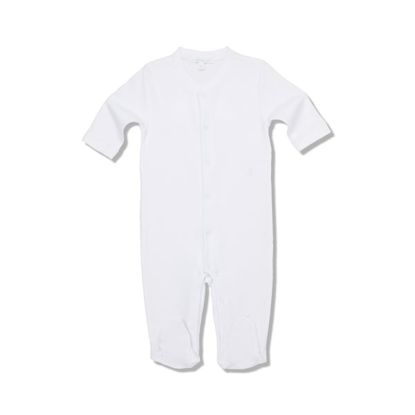 Marie-Chantal Baby Pointelle Angel Wing White