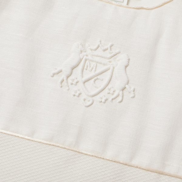 Marie-Chantal Olympia Sleepnest with Crest Embroidery