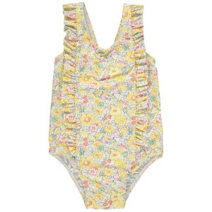 Olivier Baby Baby/Toddler/Big Kid Betty Swimsuit - Betsy Yellow