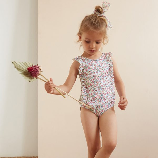 Olivier Baby Baby/Toddler/Big Kid Betty Swimsuit – Hannah Fay Pink