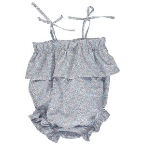 Olivier Baby Baby/Toddler Margot Romper - Elouise Blue
