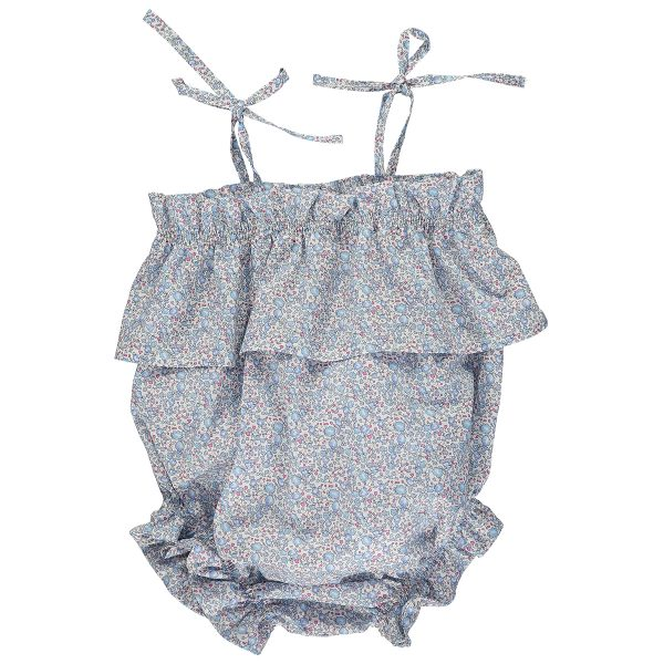 Olivier Baby Baby/Toddler Margot Romper – Elouise Blue