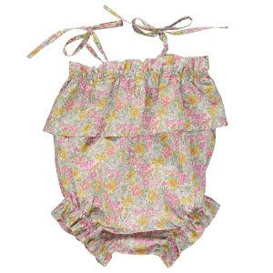 Olivier Baby Baby/Toddler Margot Romper - Honeydew