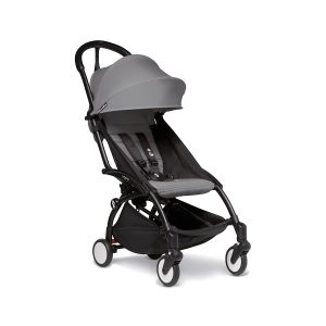Babyzen Yoyo2 Grey Stroller with Black Frame