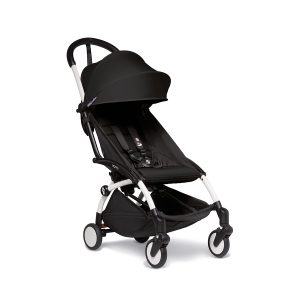 Babyzen Yoyo 2 Black Stroller with White Frame