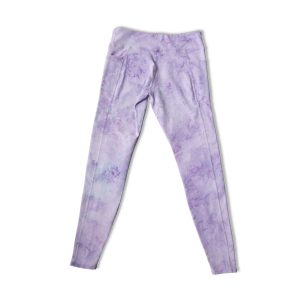 Little Moon Society Women's Grace Yoga Pant – Lavender Swirl