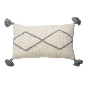 Lorena Canals Knitted Cushion Little Oasis Nat - Grey