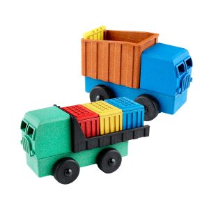 Lukes Toy Cargo and Dump Trucks