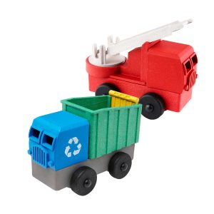 Lukes Toys Factory Fire and Recycling Truck