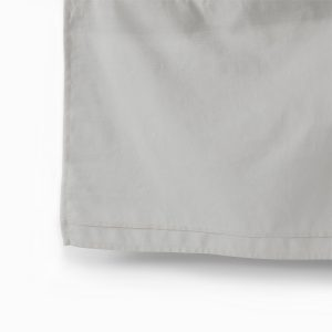 Pehr Cotton Linen Crib Skirt Grey