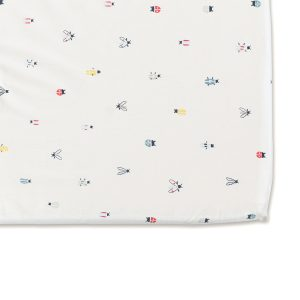 Pehr Crib Sheet Love Bug