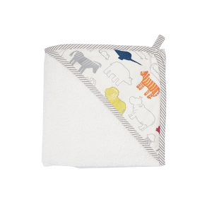 Pehr Hooded Towel - Noah's Ark