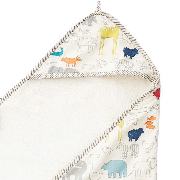 Pehr Hooded Towel – Noah's Ark
