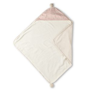 Pehr Hooded Towel Petal