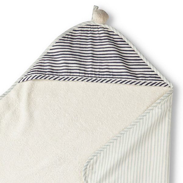 Pehr Hooded Towel Sea