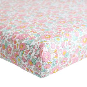 Coco & Wolf Liberty Fitted Sheet Betsy Rose