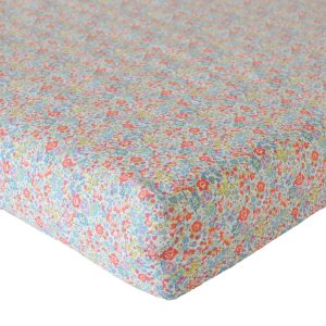 Coco & Wolf Liberty Fitted Sheet Emma & Georgina Mint
