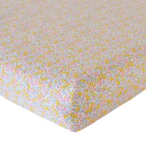 Coco & Wolf Liberty Fitted Sheet Wiltshire Bud