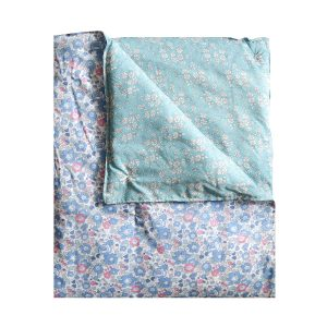 Coco & Wolf Liberty Quilt Betsy Blue, Rose Quartz, & Capel Turquoise