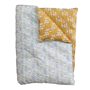 Coco & Wolf Liberty Quilt Michelle Sea Green & Capel Mustard