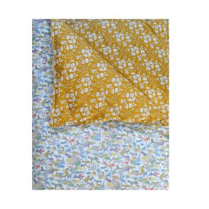 Coco & Wolf Liberty Quilt Safari Green & Capel Mustard
