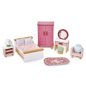 Tender Leaf Toys Doll House Bedroom Furniture