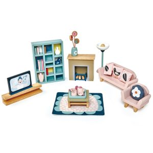 Tender Leaf Toys Doll House Sitting Room Furniture