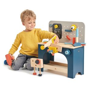 Tender Leaf Toys Table Top Tool Bench