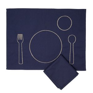 Cutelery Toddler Placement and Napkin Set