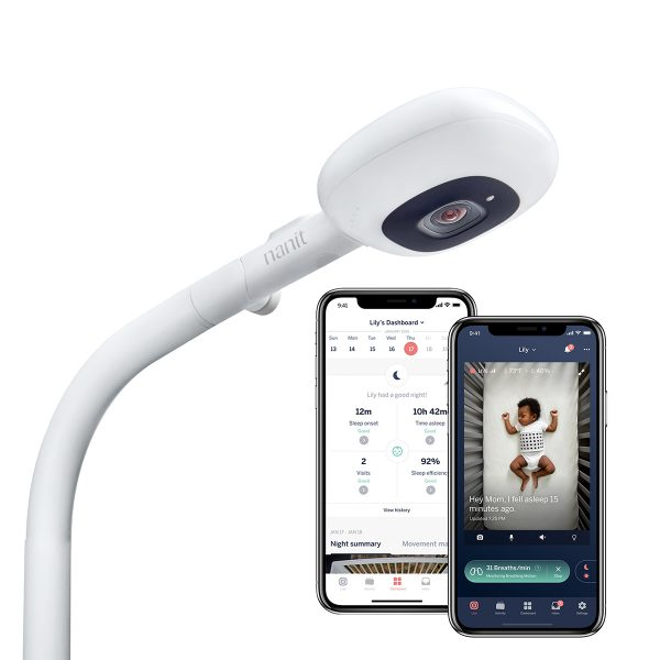 Nanit Plus Smart Baby Monitor & Floor Stand