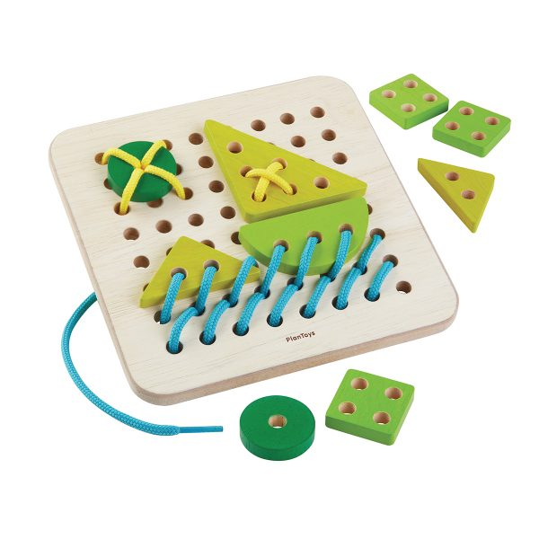 PlanToys Lacing Board
