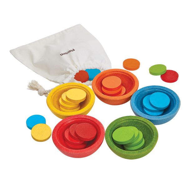 PlanToys Sort and Counting Cups