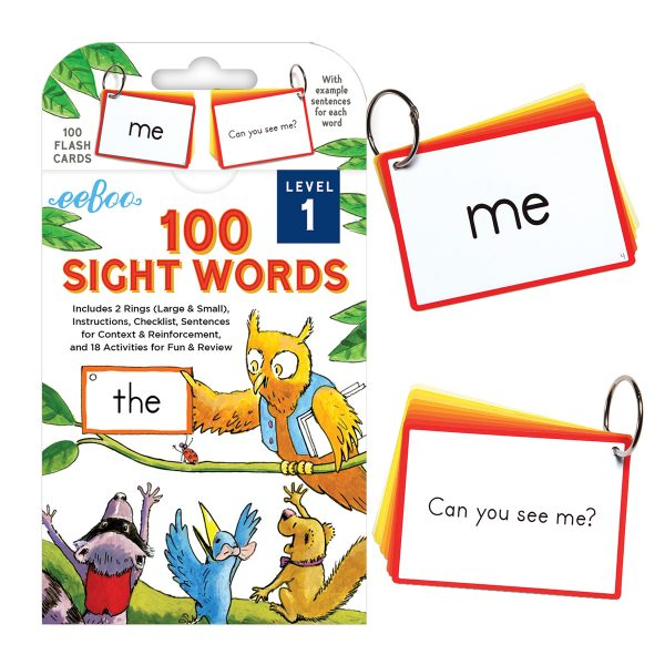 eeBoo 100 Sight Words
