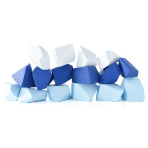 Rock Blocks Frosty Set of 16