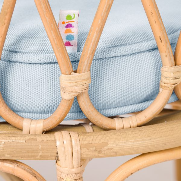 Poppie Toys Crib Baby Blue