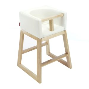 Monte Tavo High Chair - Maple White