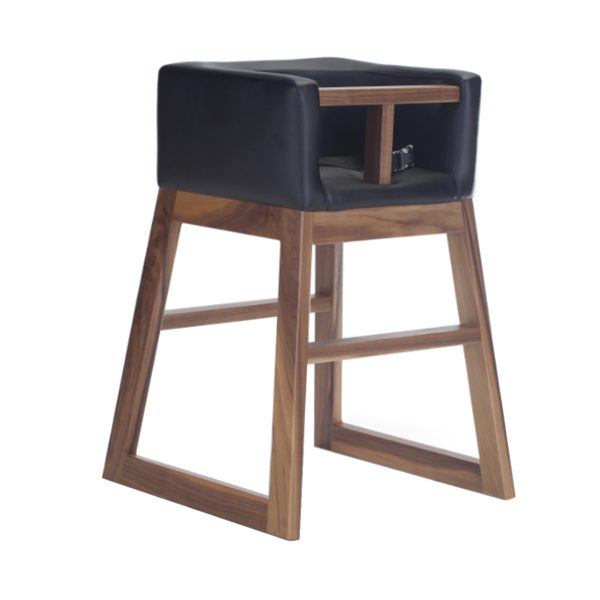 Monte Tavo High Chair – Walnut Black